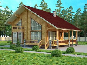 Финский дом – восхитительно уютное и качественное строение