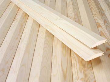 Виды древесины для вагонки