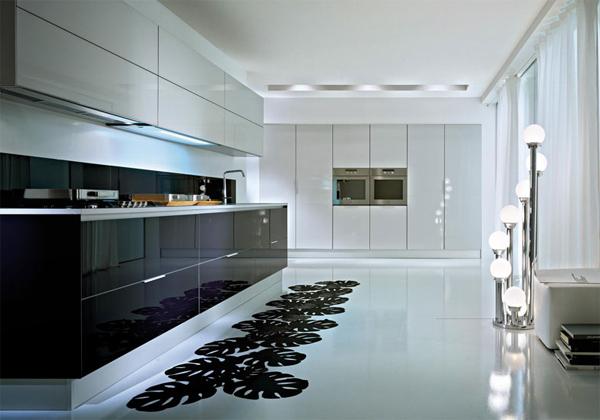 Кухни в стиле минимализма дизайн