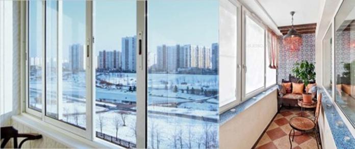 Особенности остекления типовых балконов.